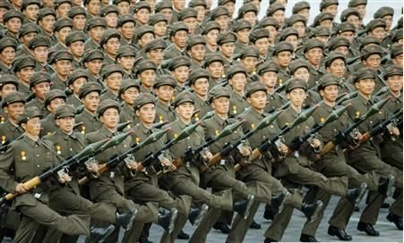 朝鲜人民军阅兵