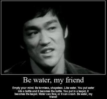 brucelee be like water