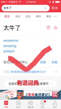 有道词典在线翻译工具